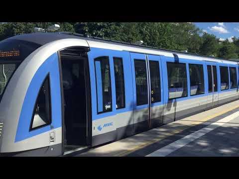 U-Bahn München: Ersteinsatz des neuen C2-Zuges (Siemens Inspiro)