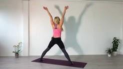 Rauhallinen jooga workout