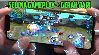 KECEPATAN JARI JESS SELENA 90.6% WINRATE + GAMEPLAY (Handcam) - Mobile Legends