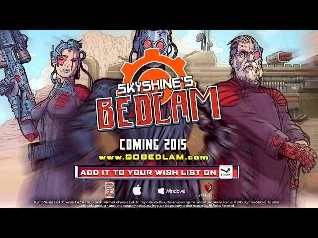 Skyshine's BEDLAM (видео)