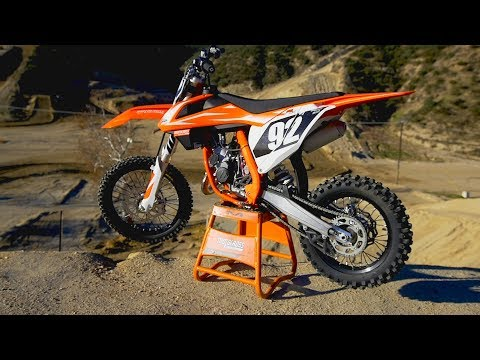 First Ride 2018 KTM 85 SX - Motocross Action Magazine