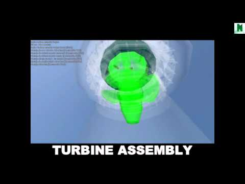 Autodesk Navisworks - Manage 2015 - Kaplan turbine Assembly (hydropower project)