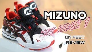 MIZUNO Wave Rider 1 Splatter Pack - On Feet Review