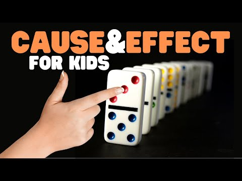 Cause and Effect for Kids | Cause and Effect Video with guided stories, worksheets, and activities