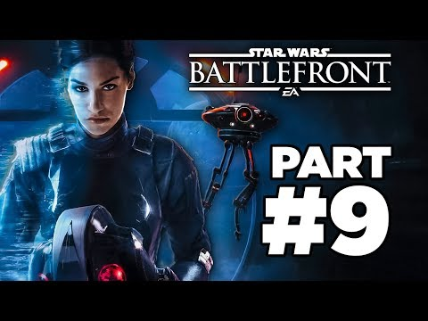 Star Wars Battlefront 2: Walkthrough Part 9 [Campaign Mission 8: Under Covered Skies] W/Commentary