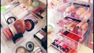 Makeup Collection And Storage | Clear Cubes | Andreamatillano