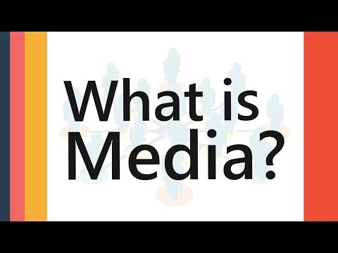 What is Media | Definition Meaning Explained | Media & Mass Communication Terms || SimplyInfo.net