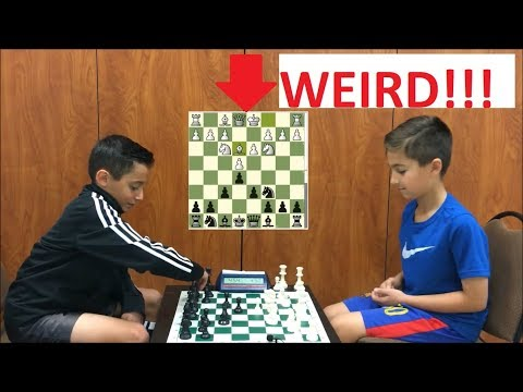 2 Kids Play The Weirdest Chess Game But It Has The Cutest Ending!