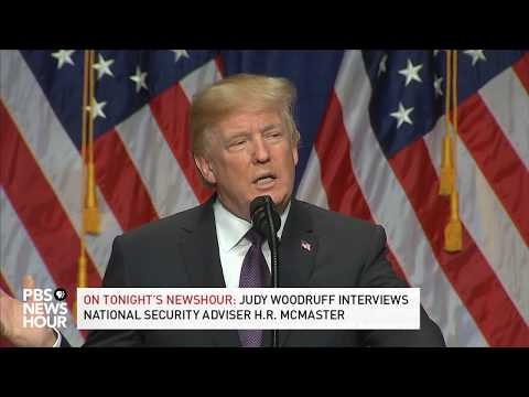 WATCH: President Trump discusses national security strategy