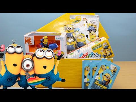 Caja Sorpresa de Los Minions en español | Kinder Sorpresa Minions | Despicable Me Unboxing Surprise