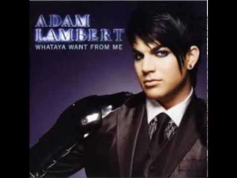 Adam Lambert - Whataya Want From Me (Instrumental) (Real version)