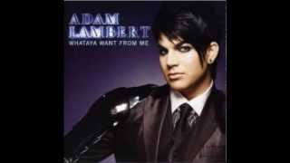 Adam Lambert - Whataya Want From Me (Instrumental) (Real version)