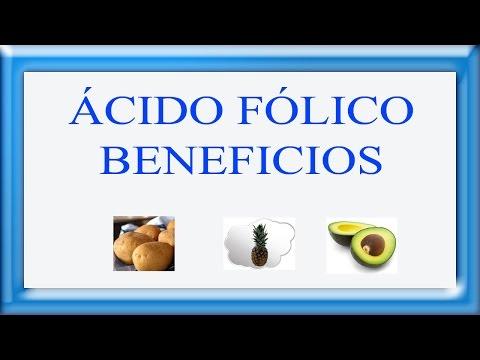Acido folico beneficios