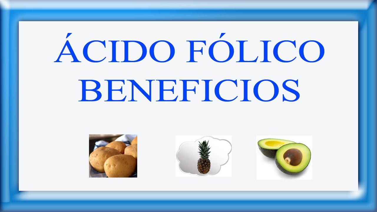 para q sirve el acido folico en adultos
