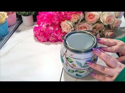 ASMR Flower Arranging ~ Cutting & Sorting ~ Soft Spoken/Whisper