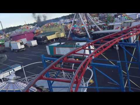 Erie county Fair 2016 - mini rollercoaster