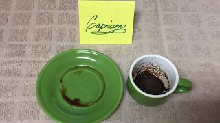Capricorn October 14, 2019 Weekly Coffee Cup Reading by Cognitive Universe