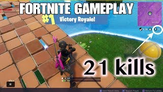 DUOS WITH DYLAN MCKENNA | 21 KILLS | FORTNITE BATTLE ROYALE | Fulll gameplay