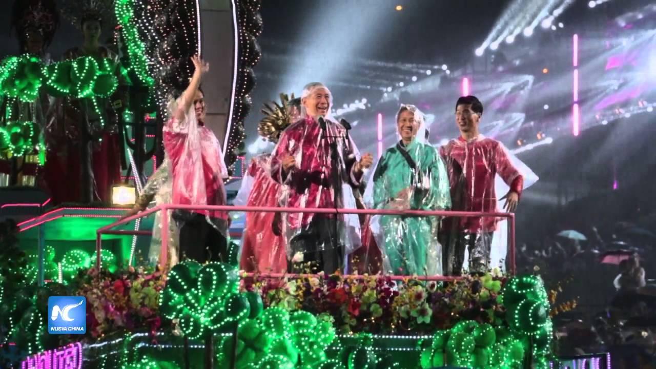 Realizan Desfile De Chingay Para Concluir Celebracion Del Ano Nuevo
