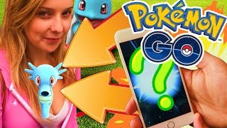 CHEEKY POKEMON CAPTURE! - Pokemon GO App - SECRET POKEMON GO TRICKS!! (Pokemon Go Gameplay Part 2)