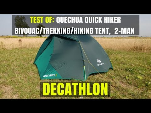 01d6dc413 Test of  Quechua Quick Hiker bivouac trekking hiking tent