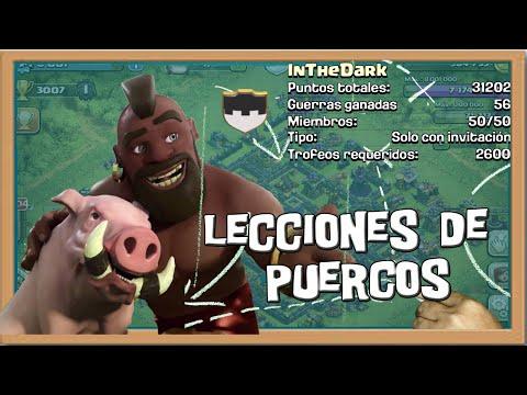 Lecciones de Montapuercos con InTheDark | Estrategia | Descubriendo Clash of Clans ...