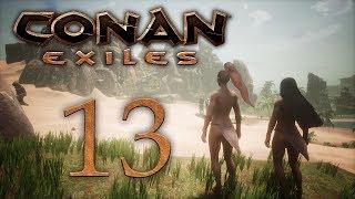 Conan Exiles - прохождение игры на русском - В джунгли! [#13] | PC