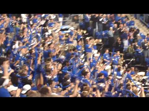 Saints Go Marching -- SLU Fight Song at  Dayton Game