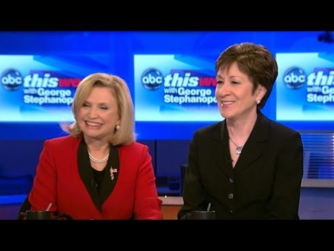Susan Collins and Carolyn Maloney Debate