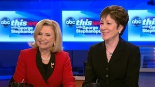 Susan Collins and Carolyn Maloney Debate