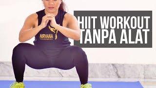 Latihan Menurunkan Berat Badan Seluruh Tubuh Tanpa Alat | HIIT Workout