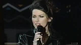 Shania Twain | Live | Oh Canada | 1996 NBA All Star Game