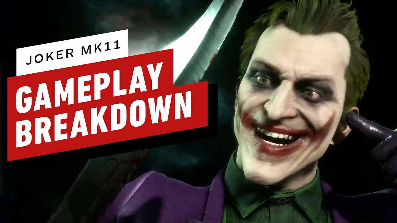 Mortal Kombat 11 - Joker Gameplay Breakdown - IGN
