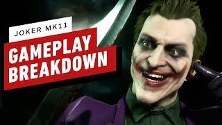 Mortal Kombat 11 - Joker Gameplay Breakdown