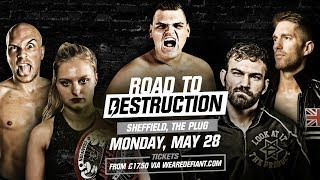 Defiant Returns To Sheffield, May 28 ft. Zack Sabre Jr, WALTER & More!