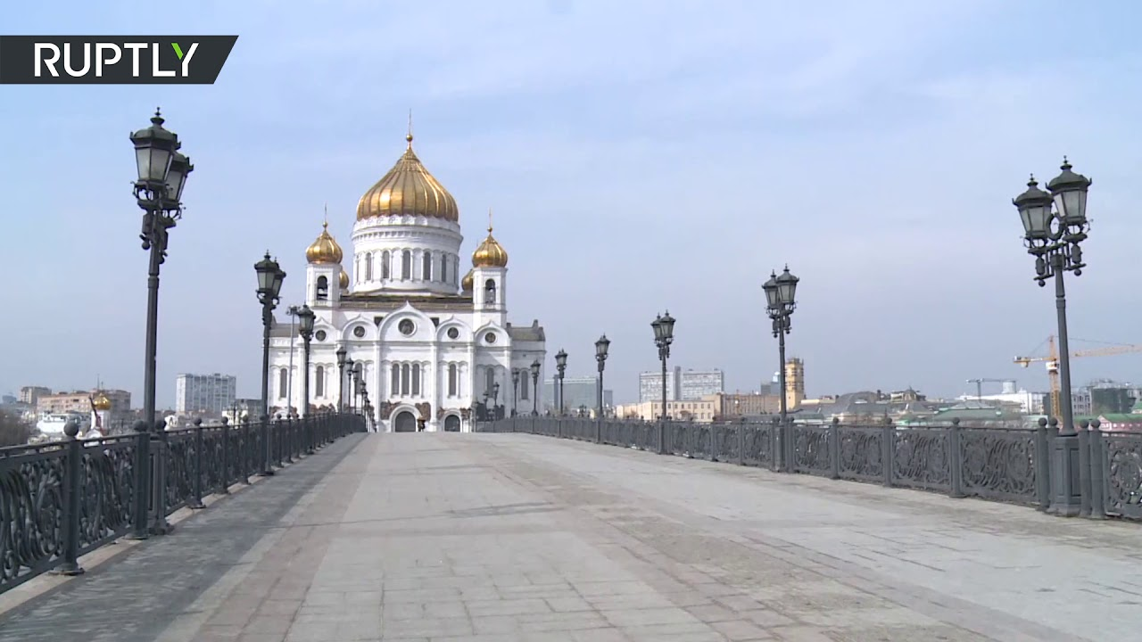 Как выглядит Москва после введения ограничений из-за коронавируса