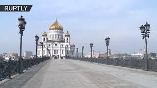 Самоизоляция в Москве: как выглядит столица после введения ограничений из-за коронавируса | день 2