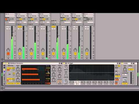 Ableton Live - Tutorial 18 : Mastering