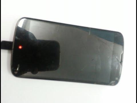 Nexus 4 red light Fix