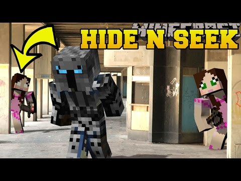 Minecraft: PAT AND JEN HIDE AND SEEK - Morph Hide And Seek - Modded Mini-Game