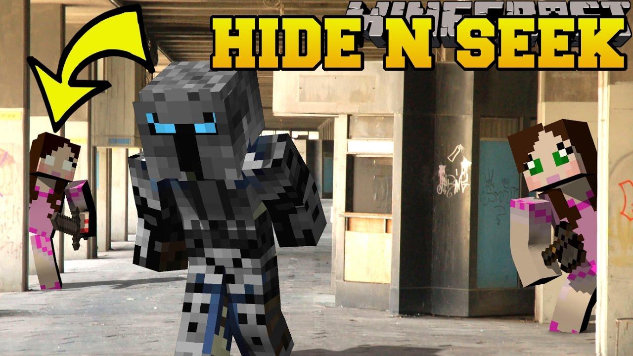 Minecraft: PAT AND JEN HIDE AND SEEK Morph Hide And Seek