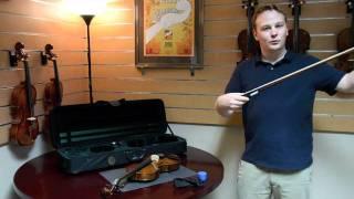Saga Presents the Cremona SV-150 Violin Outfit