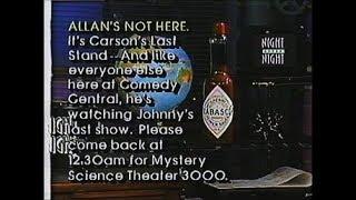 Last Carson-Era Tonight Show Commercials (May 22, 1992)