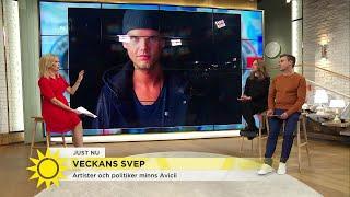 Här hyllas Avicii av fans och artister världen över – Nyhetsmorgon (TV4)