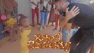 RebellComedy besucht eines der größten Flüchtlingslager der Welt