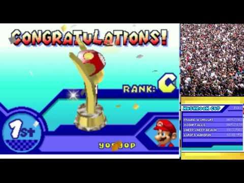 Mario Kart DS 300cc Speed Hacks on DeSmuME! #1