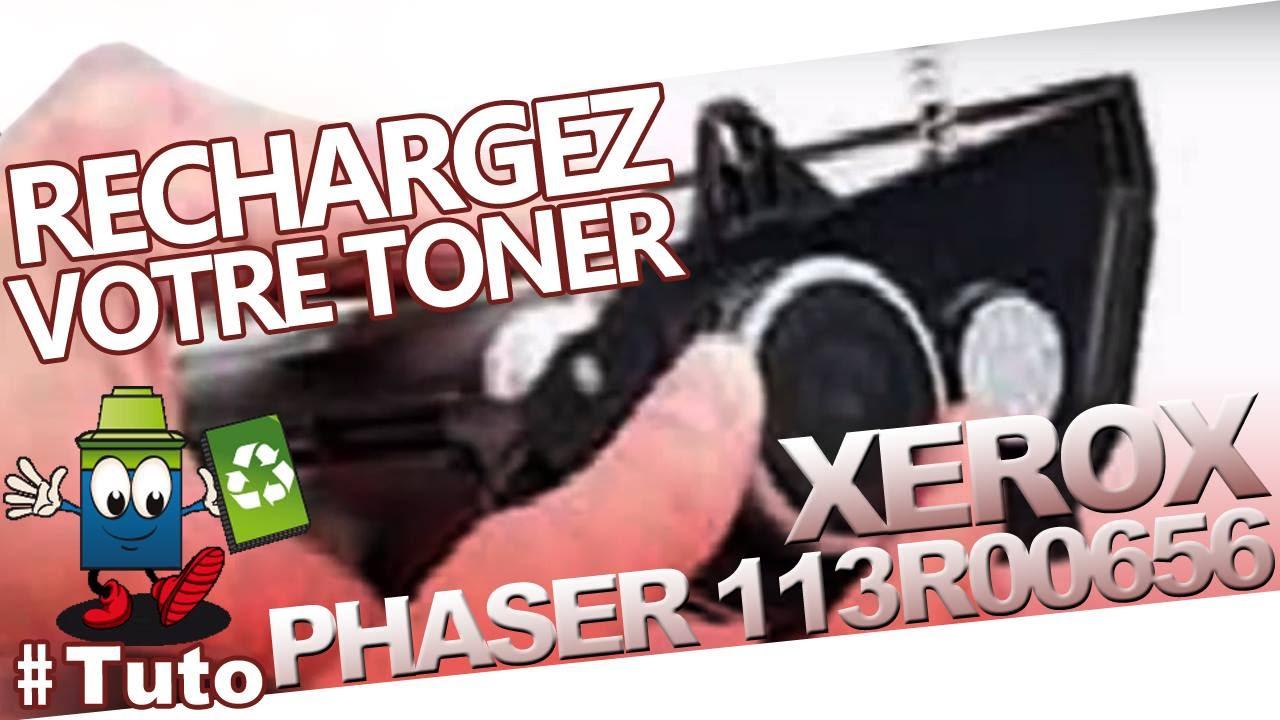 113R00656 XEROX Phaser Toner série 4500: Recharger Facilement Le Toner!