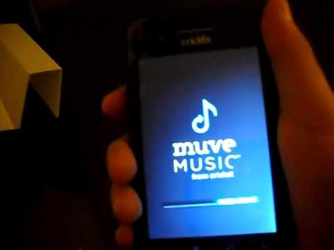 Cricket ZTE muve music phone By SJstudios1000