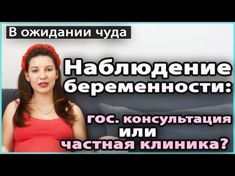 ⁉️ НАБЛЮДЕНИЕ БЕРЕМЕННОСТИ | Государственная женская консультация или частная клиника 💜 LilyBoiko