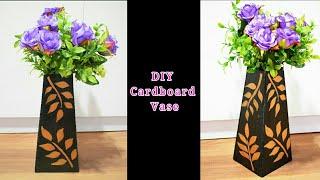 How to make vase - DIY Vase -  DIY Cardboard Vase - Flower Vase - Flower pot - artmypassion